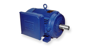 WEG Cast Iron & Aluminium Single Phase Motors