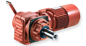 SEW Geared motors for trolley drives